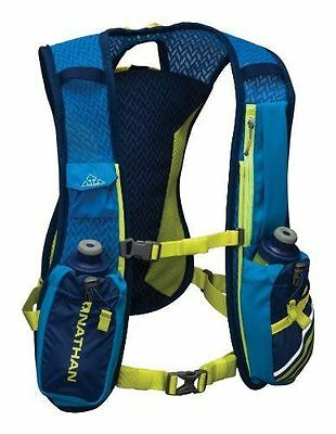 NEW Nathan Firecatcher Hydration Vest Nathan Blue One Size FREE SHIPPING