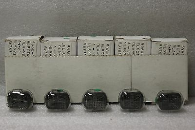 NL 5971 National Readout Nixie Tubes X 5 OEM Boxes B5971 Nixie Clock Adruino OK