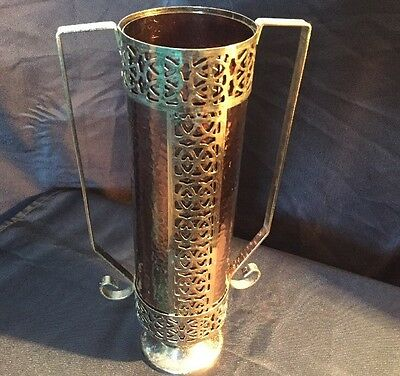 Stunning Arts And Crafts Brass Copper Style Vase
