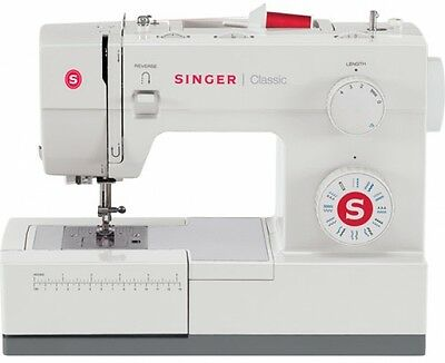 Sewing Singer Machine Heavy Duty Stitch Industrial Model Leather Portable 44S