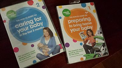 Caring For Your Baby How to Guide - 2 DVDs!!!