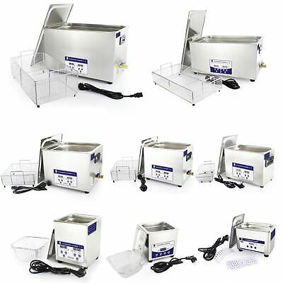 Skymen Stainless Industry Ultrasonic Cleaner Dental Tank Digital Control Heater