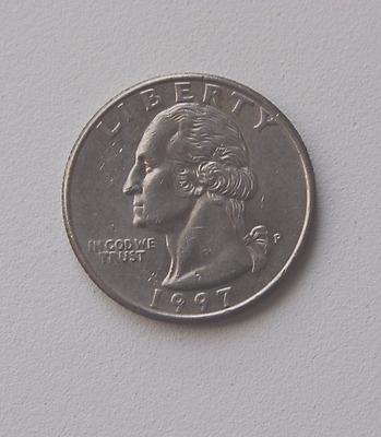 1997-Quarter  Dollar, United States - circulated