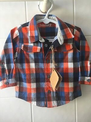 TIMBERLAND BABY BOYS SHIRT 6ths NEW!