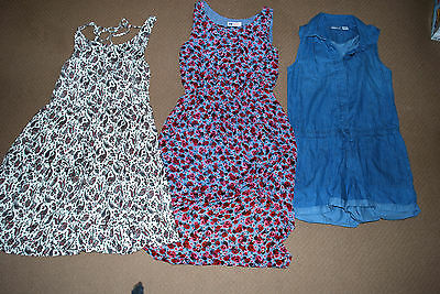 Girls bundle in size 11-12, dresses and playsuit