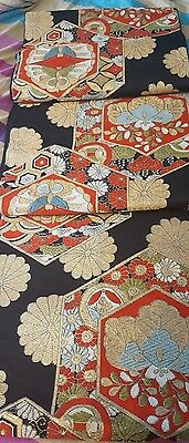 Vintage Fukuro Obi...Beautifully patterned and very good condition.