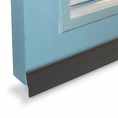 Moroday Brown Self Adhesive Plastic Door Seal