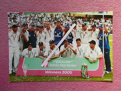 English Cricket Team  Winning The Ashes In 2005