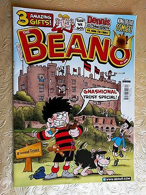 Beano comic No 3596 National Trust special 30 July 2011