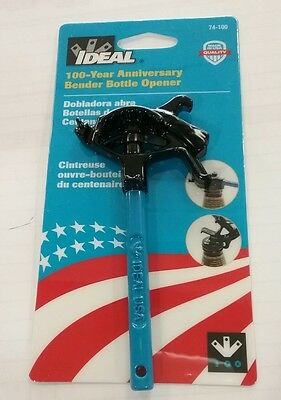 Ideal Conduit Bender Bottle Opener 100th Anniversary Tool Electrician Gift NEW