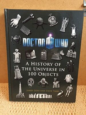 Doctor Who Book - A History Of The Universe In 100 Objects (Hardback)