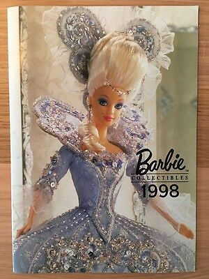 Barbie Collectibles 1998 Broschüre Katalog