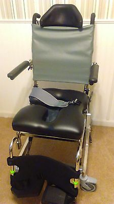 Rehab Shower Commode Chair RAZ-AT lots of options.  Best chair out there.