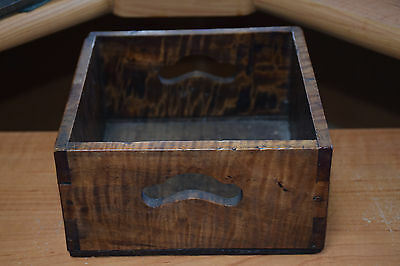 Antique/Vintage Japanese Mulberry? Tabacco Box/Tray?  Beautiful Patina!