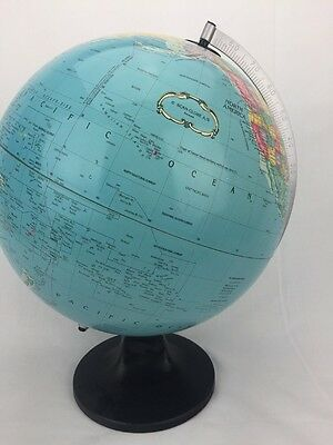 "Scan Globe A/S 12"" The Political World Metal Globe"