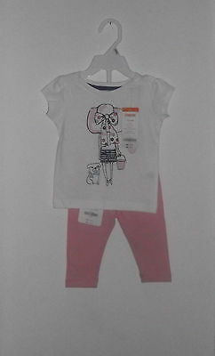 NWT Gymboree Baby Girl 2 Piece Spring /Summer Top & Pants Set Size  6 -12 Months