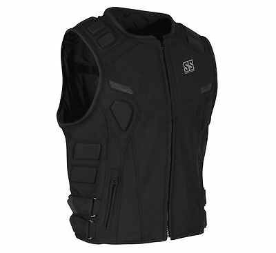 Speed & Strength Men's Critical Mass Armored Vest [Black,X-Large]