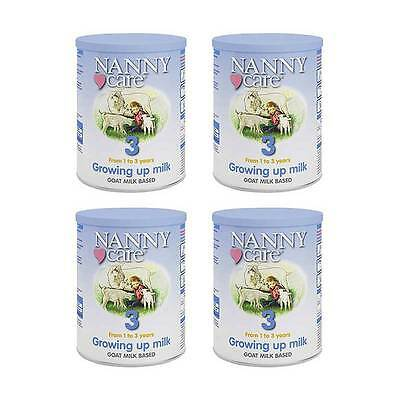 3х900gr Nanny Care Growing up Milk, Goat Milk Based, From 1 to 3 Years,