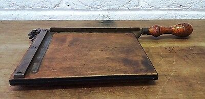 Unusual Vintage Small Size Guillotine Photographic/Negative/Slides/Photo Cutter
