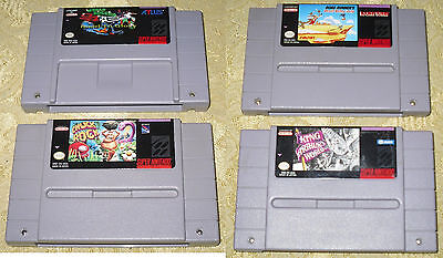 Lotto Giochi  Per Snes Super Nintendo Ntsc Usa