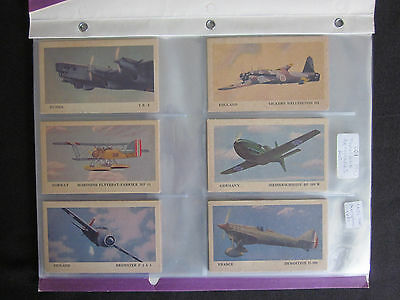 1940 Tydol Gas Airplanes Non-Sport Cards Complete Set (40) EX-MT