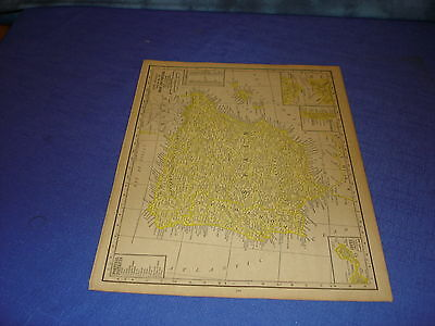 1928 map Spain  from Rand McNally World Atlas Commonwealth Edition