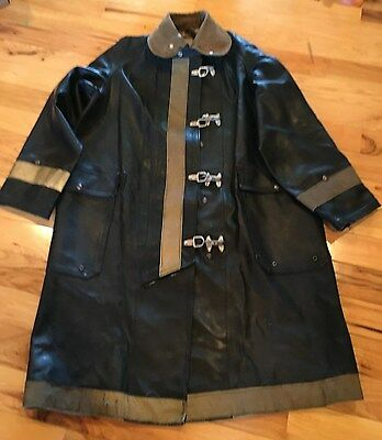 Vintage Body Guard  Firefighter Coat Heavy  AUTHENTIC Turnout Nautical