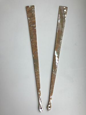 A Set Of Antique Mother Of Pearl Fan Handles