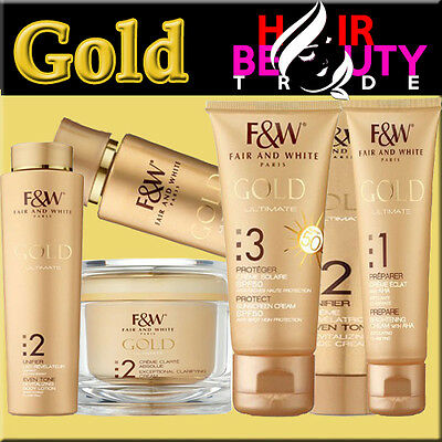 Fair&white Gold Skin Lightening /skin Care /brightening /whitening All Products