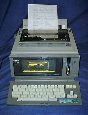 Brother Word Processor WP-2400 Spreadsheets Addressbook Calendar Grammar Check