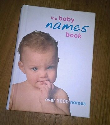 The baby names book.