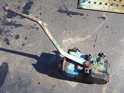 Vintage Ford  6000  Diesel Tractor - Remote Hydraulic Valve & Lever - 1963