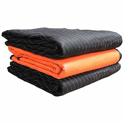 Forearm Forklift FFBMB3 72 Inch x 80 Inch Heavy Weight 6.7 Lbs Moving Blanket,