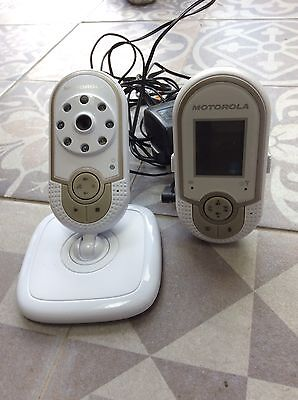 Used Motorola Mbp28 Digital Wireless Video Baby Monitor - Great Condition