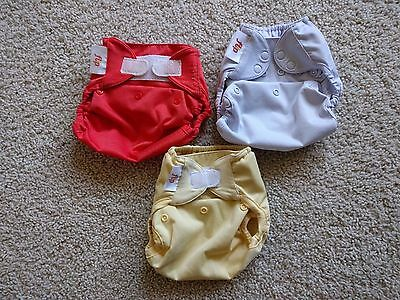 Lot of 3 Flip Diaper Covers One Size