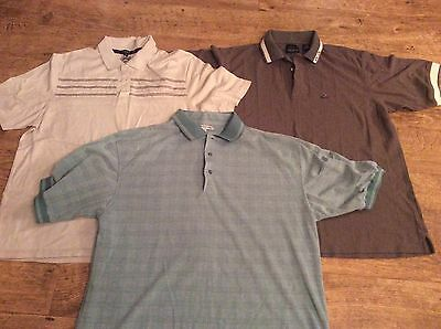 Men's Bundle Of Large Polo Tops