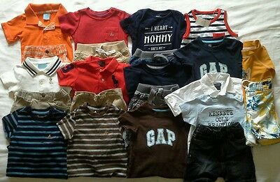 Boys 6-12 months Spring Summer Clothes Outfits shirts shorts clothing lot!