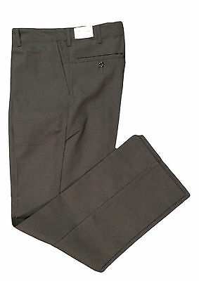 NEW! Industrial Work Pants Charcoal Men's Uniform (65% Polyester / 35% Cotton)