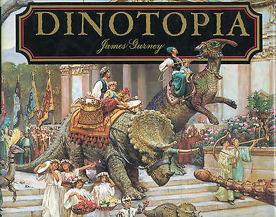 SET OF 3 BOOKS - DINOTOPIA/THE WORLD BENEATH/FIRST FLIGHT by JAMES GURNEY