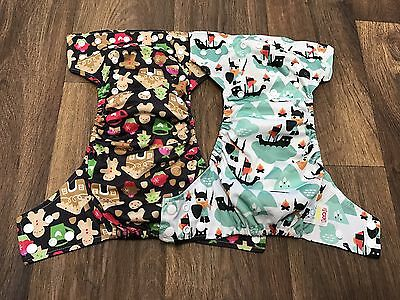 Lot Of 2 BBCDC AIO With Hemp Cloth Diaper