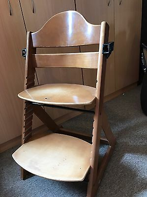 Timber high chair, adjustable, Jolly brand