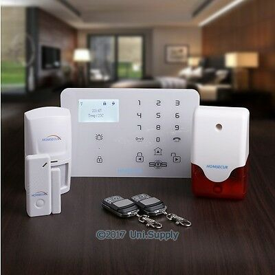 HOMSECUR Wireless WCDMA-3G/GSM Home Security Alarm System with IOS/Android APP