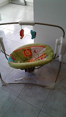 Fisher Price Rainforest Cradle & Swing