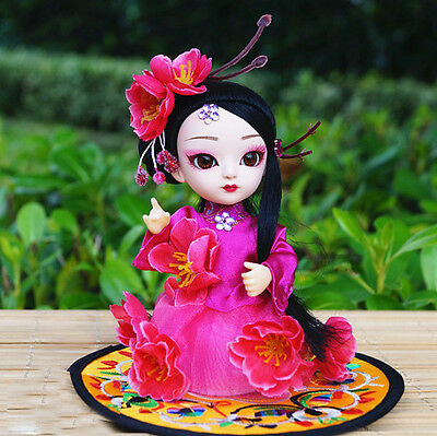 6'' Handmade Mini Q Version Figurine Beauty Asian Chinese Doll Fairy Tale Angel