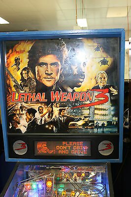 Pinball Machine Lethal Weapon 3 By Data East 1992