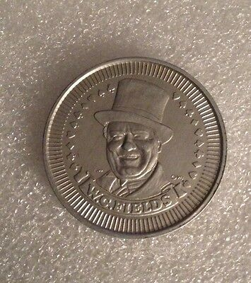 W. C. Fields Token Coin With Quote On Reverse