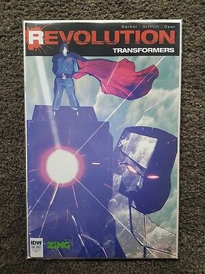 IDW Transformers Revolution Zing Exclusive one shot comic
