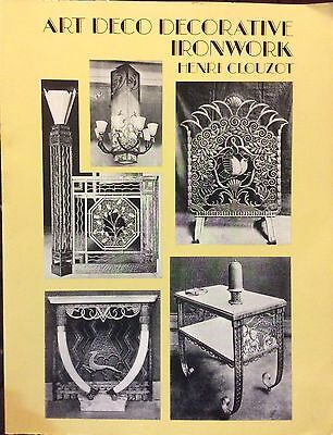 Art Deco Decorative Ironwork Book