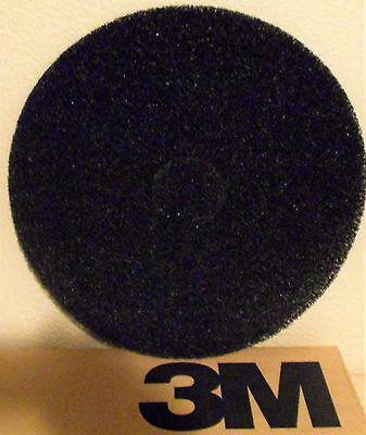 3M 7300 Stripping Pad, 20 In, Black, PK 5 New