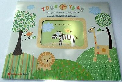 YOUR 1ST YEAR - A Keepsake Calendar of Baby's Firsts Item # 51037 BRAND NEW